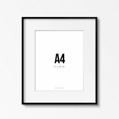 Marco Negro A4 de Anthologie de Papier