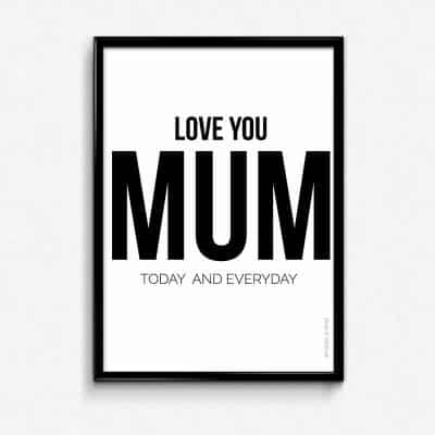 Lámina Mum - Frases