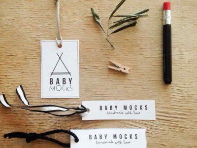 Diseño de imagen | Branding de marca para Baby Mocks.